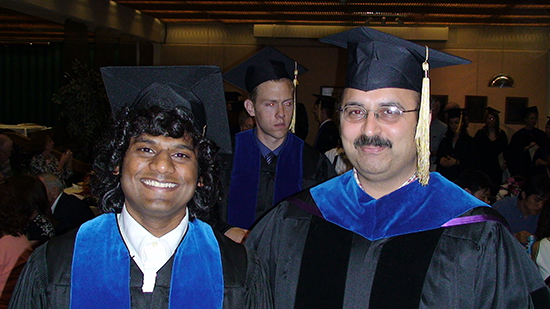 Vinodh Pillai and Nitin Karandikar