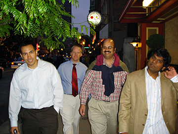 Jason Mendoza, Nathan York, Nitin Karandikar and Vinodh Pillai