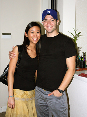 Andrew Tyler with Fiance